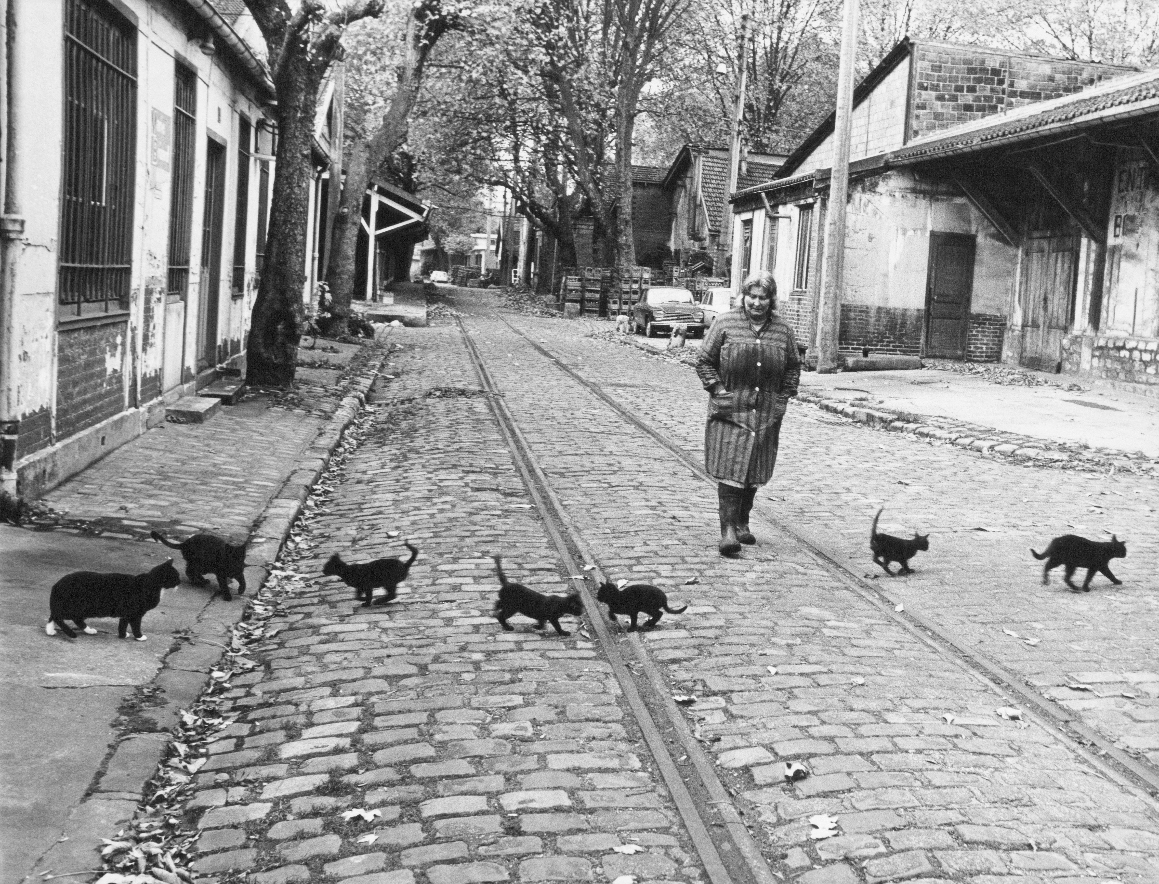 Le photographe Robert Doisneau s'invite à Bercy Village.